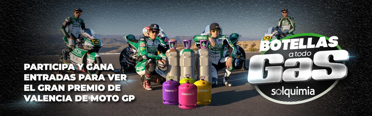 Participa y gana entradas para ver el Gran Premio de Valencia de MOTO GP